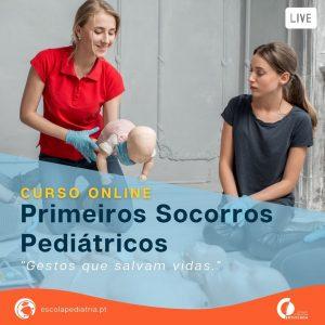 curso primeiros socorros pediátricos