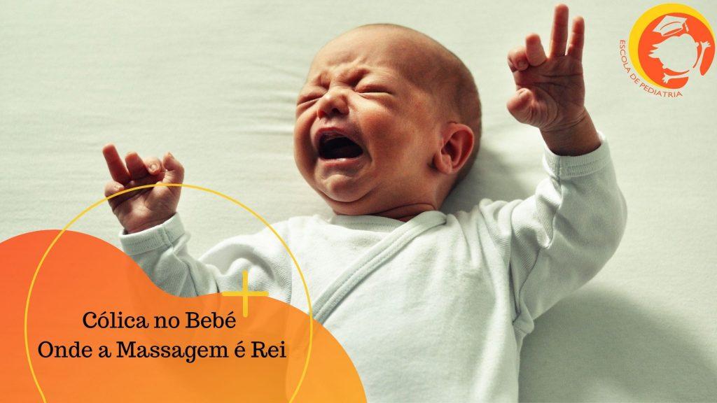 cólicas no bebé